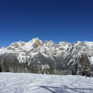 Skiing 'Italian Style' in the Dolomites